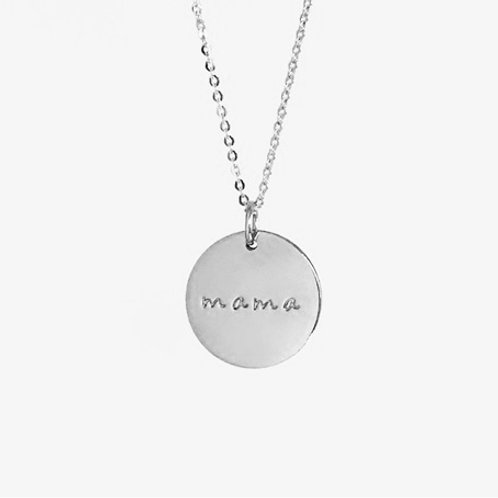 Name necklace- Sterling silver