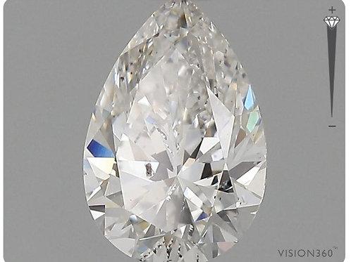 Lab- Grown Diamond- 1.00ct Pear