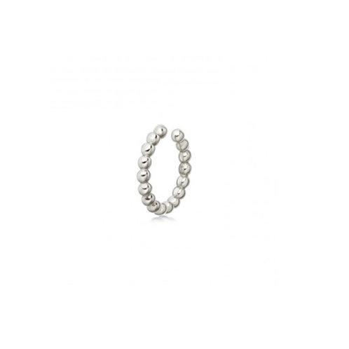 BEADED Ear Cuff- Sterling silver