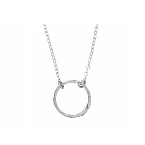 Circle of life TWIG necklace- Sterling silver