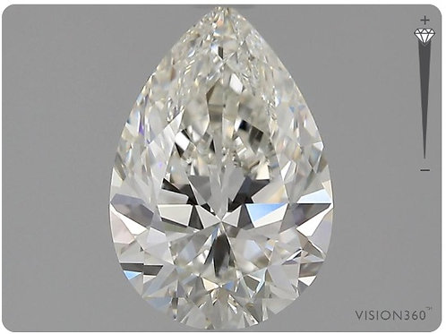Lab- Grown Diamond- 1.55ct Pear
