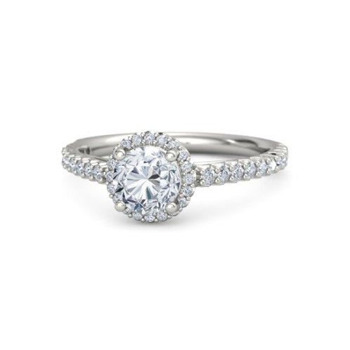 LAUREN 18k Gold Diamond Engagement Ring
