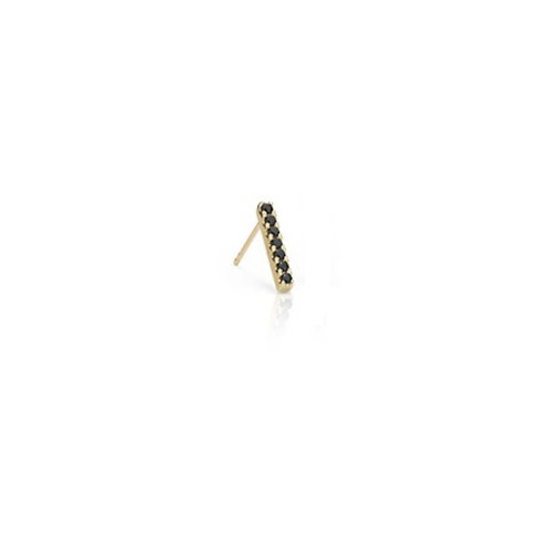 NOIR BAR Stud-9k gold & diamonds