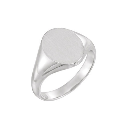 MILAN signet ring- Sterling silver