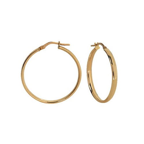 Everyday Hoops- 9k gold