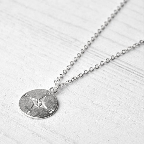 COMPASS necklace- Sterling silver