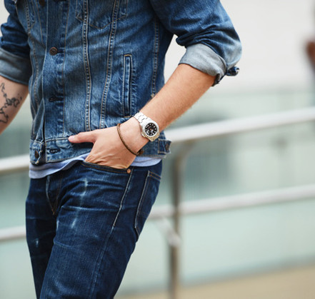 A MAN'S GUIDE TO WEARING JEWELLERY