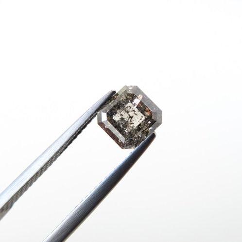 Diamond-1.37ct Square Emerald- Cut