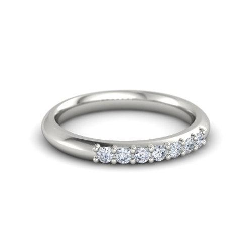 Josie eternity ring- 9k gold & diamonds