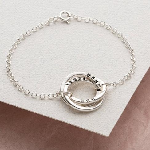 RUSSIAN RING bracelet- Sterling silver