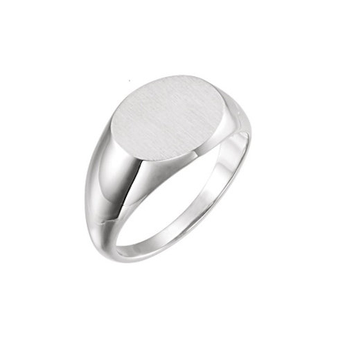 RHODES signet ring- Sterling silver