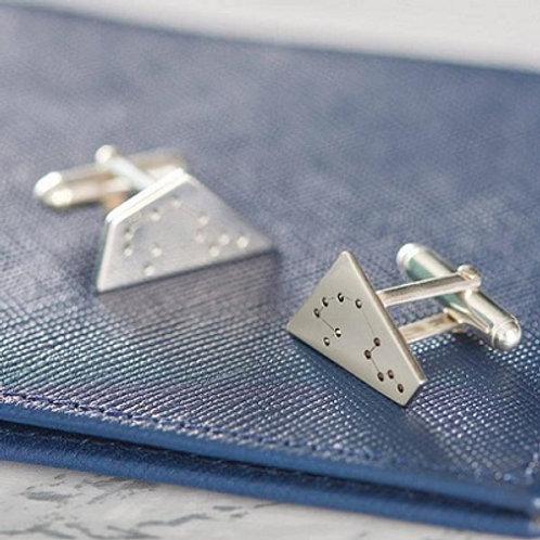CONSTELLATION cufflink-Sterling silver