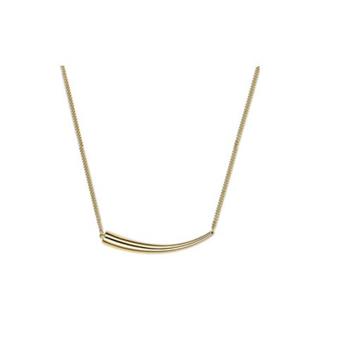 TUSK necklace- 9k gold