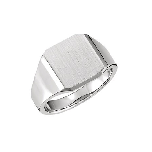 BROOKLYN signet ring- Sterling silver