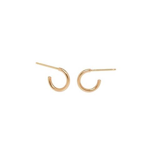 SNUGGIE hoops- 9k gold