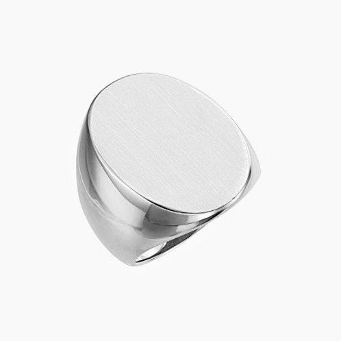 PRAGUE signet ring- Sterling silver