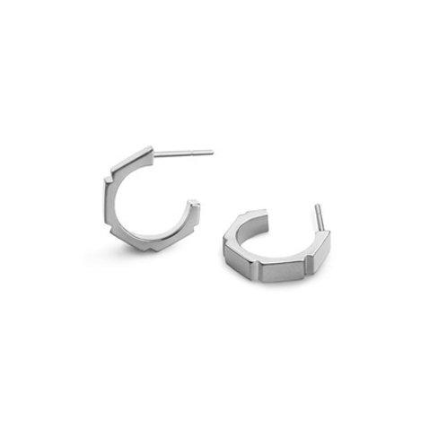 ORIGINATOR hoop-Sterling silver