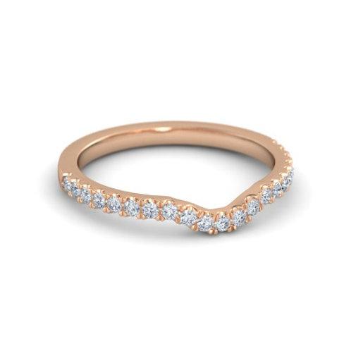 DIANNE eternity ring- 18k gold & diamonds