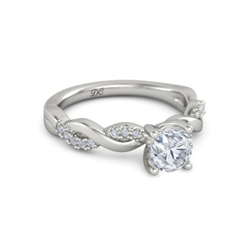 PAGE 18k Gold Diamond Engagement Ring