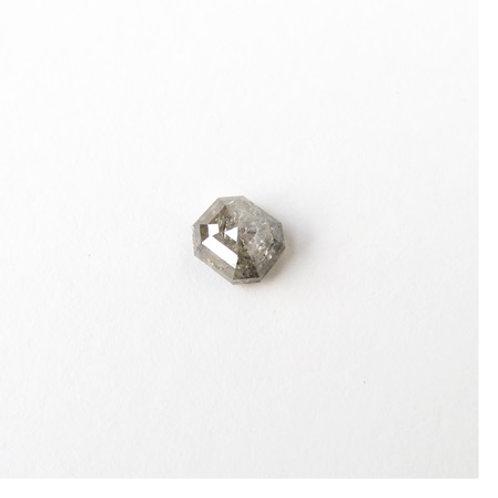 Diamond- 1.05ct Emerald-shape Rose-Cut