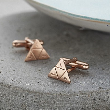 Triangle cufflinks_ rgold.jpg
