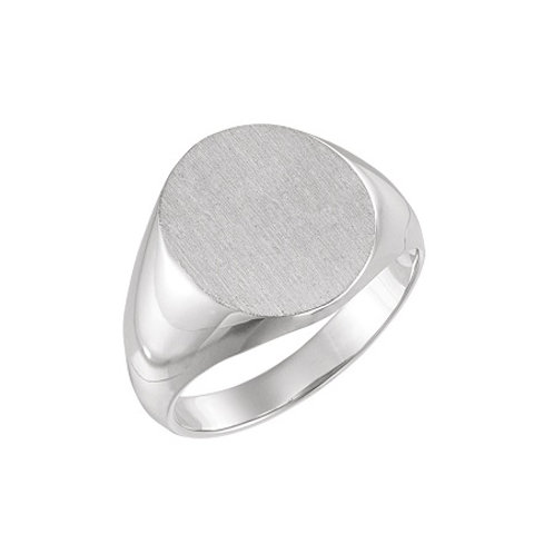 OXFORD signet ring-Sterling silver