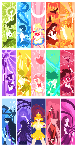 Sailor Moon Collage