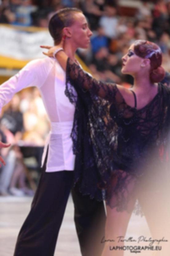 Stephen Piroux et Juliette Rey