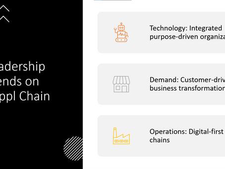 Como os líderes Globais em Supply Chain estão lidando com Transformação Digital?