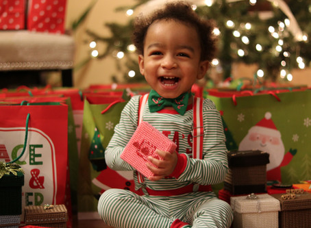 Baby Santa's Helper Surprises Schenectady Center Nursing Home Residents