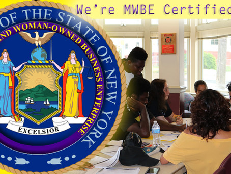 Wealth Education Exchange Services are Now MWBE Certified!