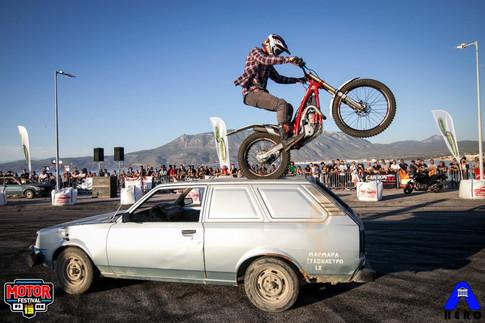 MotorFestival Trial Freestyle Show