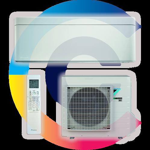 DAIKIN STYLISH 2.0kW FTXA20AW/RXA20A, R-32 új környezetbarát hűtőközeg!