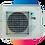 Thumbnail: DAIKIN STYLISH EZÜST 3.5kW FTXA35BS/RXA35A, R-32 új környezetbarát hűtőközeg!