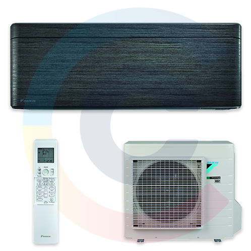 DAIKIN STYLISH FEKETEAKÁC 2.5kW FTXA25BT/RXA25A, R-32 hűtőközeg!