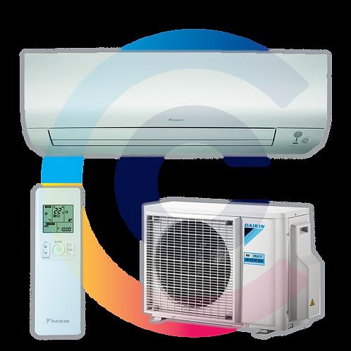 DAIKIN PERFERA 5,0kW, FTXM50M/RXM50M9, R-32 új hűtőközeg!