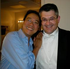 With great Yo- Yo Ma.