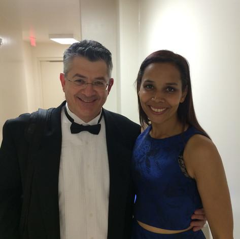 With our North Carolina super star Rhiannon Giddens.