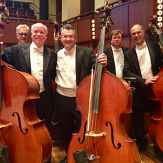 NCS Bass section , performing in Washington, DC.