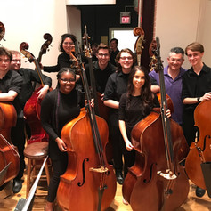 EMF with fantastic bass students.