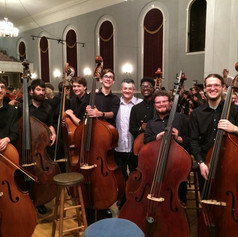 Amazing bass students at EMF.