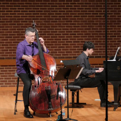 Hindemith Sonata for Double Bass and piano with Anatoly Larkin.
