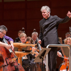 Premiere of Terry Mizesko's Double Bass Concerto with Maestro Grant Llewellyn and NCS.