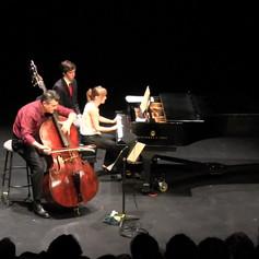 "G. Bottesini, Variations on Nel cor piu non mi sento from Paisiello's La ""Molinara"" with Olga Kleiankina, piano."