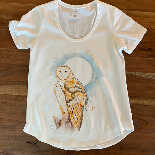 Womens Owl Tee