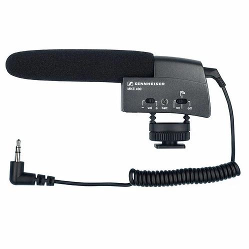Sennheiser MKE 400 Micrófono tipo escopeta