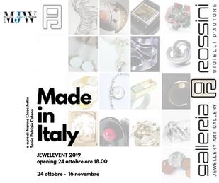 Per la Milano Jewelry Week la Galleria Rossini  celebra il gioiello d'artista con tre eventi spe