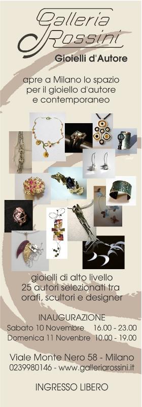Un nuovo spazio per il gioiello a Milano