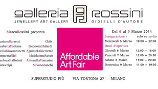 La galleria sbarca ad Affordable Art Fair