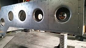Riveted Steel Frame